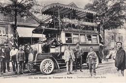 PARIS - Les Moyens De Transports à Paris - Omnibus Autobus Eugène Brillé - TBE - Transport Urbain En Surface