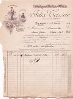 ANNEE 1923 / SALON / FABRIQUE D HUILE D OLIVE / FELIX TEISSIER - Food
