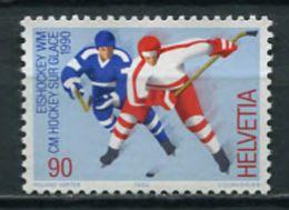 Switzerland 2000 Suiza / Hockey MNH Jockey / Ju08  1 - Hockey (Ijs)
