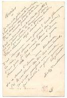 Poème Sur Carte Postale - Rosées - Sully Prudhomme - Manuscripts