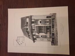 VILLA LE TREFLE A WESTENDE  1908  ARCHITECT O. VAN RYSSELBERGHE Afmetingen 27 Cm Op 36 Cm - Architecture