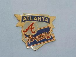 Pin's BASE BALL BRAVES ATLANTA - Baseball