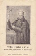 Devotie - Devotion - Heilige Paulus à Cruce - Stichter Passionisten - Santini