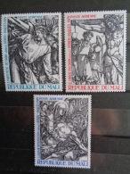 MALI 1979 P.A. Y&T N° 357 à 359 **  - PAQUES, DETAILS DE GRAVURES DE DURER - Mali (1959-...)