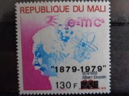 MALI 1979 P.A. Y&T N° 356 **  - CENTEN. DE LA NAISSANCE ALBERT EINSTEIN ( SURCHARGE ) - Mali (1959-...)