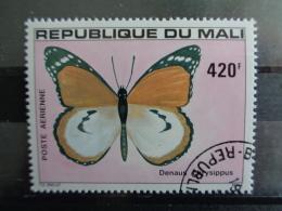 MALI 1980 P.A.Y&T N° 400 OB  - PAPILLON - Mali (1959-...)