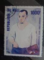 MALI 1981 P.A. Y&T N° 410  OB -  100e ANNIV. DE LA NAISSANCE DU PEINTRE P. PICASSO - Mali (1959-...)