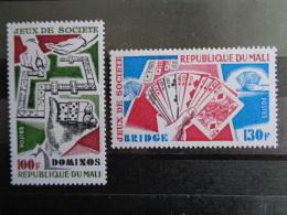 MALI 1978 Y&T N° 309 & 310 ** - JEUX DE SOCIETE - Mali (1959-...)