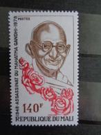 MALI 1978 Y&T N° 308 ** - 30e ANNIV. DE L' ASSASSINAT DU MAHATMA GANDHI - Mali (1959-...)