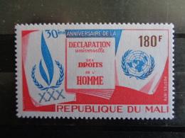 MALI 1978 Y&T N° 317 ** - 30e ANNIV. DE LA DECLARATION UNIVERSELLE DES DROITS DE L'HOMME - Mali (1959-...)