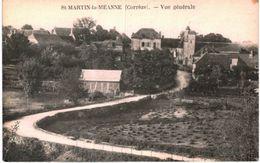 SAINT MARTIN LA MEANNE .... VUE GENERALE - France