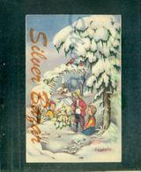 AUGURALI-BUON NATALE -MERRY CHRISTMAS-JOYEUX NOEL-FROHE WEIHNACHTEN - Natale