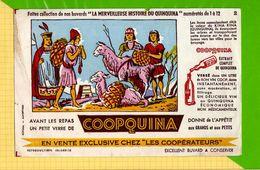 BUVARD & Blotting Paper : Les Cooperateurs Vendent COOPQUINA  N°2 Les Incas - Liquor & Beer