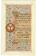 Image Religieuse. Souvenir De Communion. Alice Van Der Buecken. Ixelles 1898. - Images Religieuses
