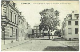 Waremme. Rue De Liège Et Arbre De La Liberté Planté En 1830. - Borgworm