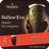 Sous Bocks - GUINNESS - Hallow' Eve - 2 Scan. - Beer Mats