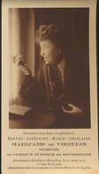IMAGE MORTUAIRE * NOBLESSE * VICOMTESSE BERTHE MAELCAMP DE VIRELLES * BRUXELLES 1932 * PHOTO - Obituary Notices