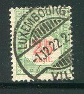 LUXEMBOURG- Taxe Y&T N°13- Oblitéré (très Belle Oblitération!!!) - Postage Due