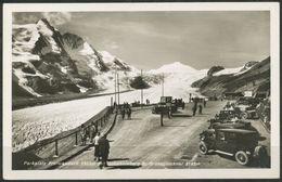 Ansichtskarte -Parkplatz Freiwandeck Mit  Johannisberg  Und  Grossglockner  1937 - Österreich