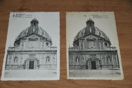 486- Scherpenheuvel Montaigu, La Facade De La Basilique - 1951 En 1966 - Scherpenheuvel-Zichem