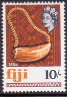 FIJI 1968 SG #386 10sh MNH - Fidji (...-1970)