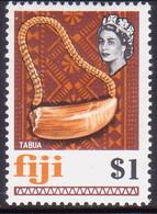 FIJI 1969 SG #406 $1 MNH - Fiji (...-1970)