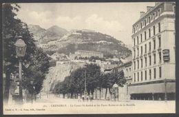 Grenoble - Le Cours Saint-André Et Les Forts Rabot Et De La Bastille - N° 362 - Voir 2 Scans - Grenoble
