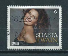 2014 Canada Shania Twain,music Used/gebruikt/oblitere - 1952-.... Regering Van Elizabeth II
