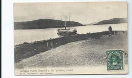 CHILI - Antiguo Fuerte Espanol Y Rio Valdivia - Corral - Old Postcard - Chile