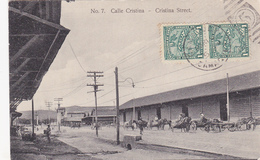 CPA CUBA Calle Cristina Cristina Street Rue Cristina - Cartes Postales