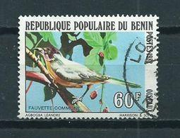 1982 Benin 60F Birds,oiseaux,vögel Used/gebruikt/oblitere - Benin – Dahomey (1960-...)