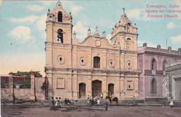 CPA CUBA Carmen Church Iglesia Del Carmen Eglise Carmen - Cartes Postales