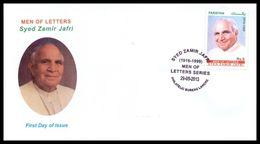 2013 Pakistan Syed Zamir Jafri - Men Of Letters Series FDC - Pakistan