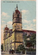 CPA CUBA MATANZAS Cathedral Cathédrale - Monde