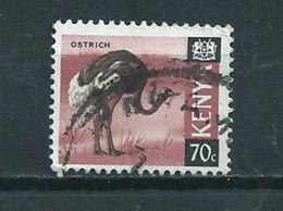 1969 Kenia Ostrich,birds,oiseaux,vögel Used/gebruikt/oblitere - Kenia (1963-...)