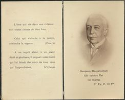IMAGE MORTUAIRE * NOBLESSE * BARON ROLIN JAEQUEMYNS EDUARD * + 1936 * ADEL * FOTO * PHOTO - Obituary Notices