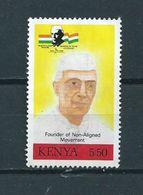 1989 Kenia J.Nehru Used/gebruikt/oblitere - Kenia (1963-...)