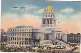 CPA CUBA HABANA Capitolio Capitol Le Capitole - Monde