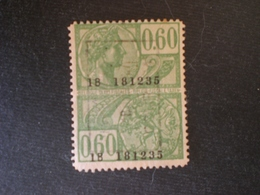 BELGIUM BELGIO BÉLGICA BELGIQUE BELGIEN  Belgian 1917 Tax Fiscal Stempelmarke - Fiscaux