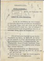 Abschrift/Geheime Reichssache! Entwurf Für Den Führererlass! - Briefe U. Dokumente