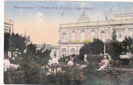 CPA CUBA MATANSAS Parque De La Libertad Y Casino Espanol Parc De La Liberté - Cartes Postales