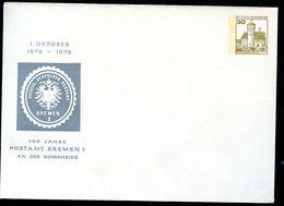 Bund PU108 D2/003 Privat-Umschlag 100 J. POSTAMT BREMEN ** 1978 - Post