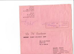 GENVAL LE FIL ENCHANTE MADAME GABY DAMS_DELOOZE 243 AV GEVAERT - Belgium