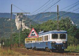 Automotrice Z 7129 (TER Vers Montélimar), à Châteauneuf-du-Rhône (26) - - Eisenbahnen
