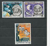 MALI  Scott C33-C35 Yvert PA333-PA35 (3) ** Cote 9,00$ 1966 - Mali (1959-...)