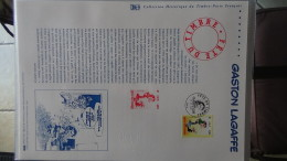 Album De 70 Documents Philatéliques De France ( Timbres Et Blocs). 3 Albums Achetés = Port 19.20 OFFERT !!! - Sammlungen (im Alben)