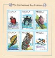 Angola Nº 1180 Al 1185 - Angola