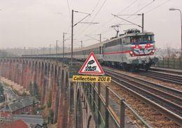 Dernier Train Corail Paris-Le Havre En BB 16000, De Passage à Barentin (76) - - Trains