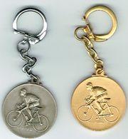 BELVAUX Médailles Lot De Deux 25 Joer (Club Cycliste) - Luxembourg