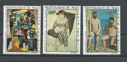 MALI  Scott C46-C48 Yvert PA46-PA48 (3) ** Cote 10,00$ 1967 - Mali (1959-...)
